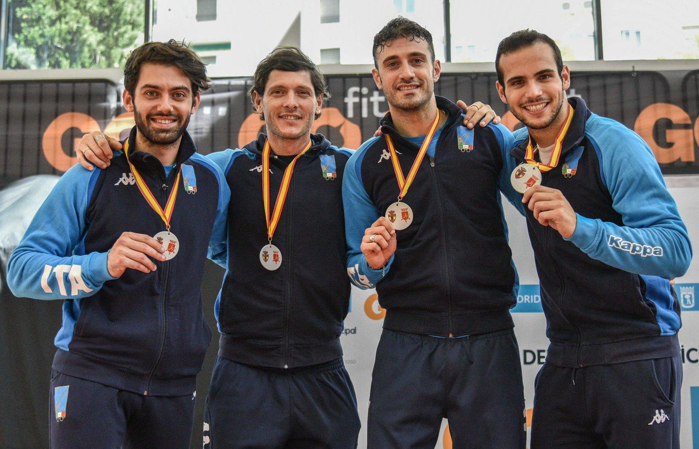 ITALIA squadra scm MADRID2018 Secondo posto