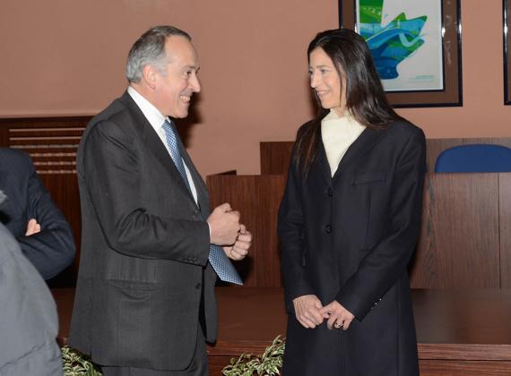 033 presidente abete con la signora manuela