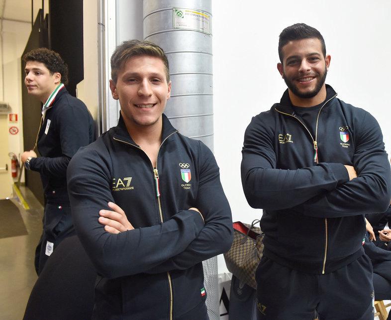Mirco Scarantino e Antonino Pizzolato