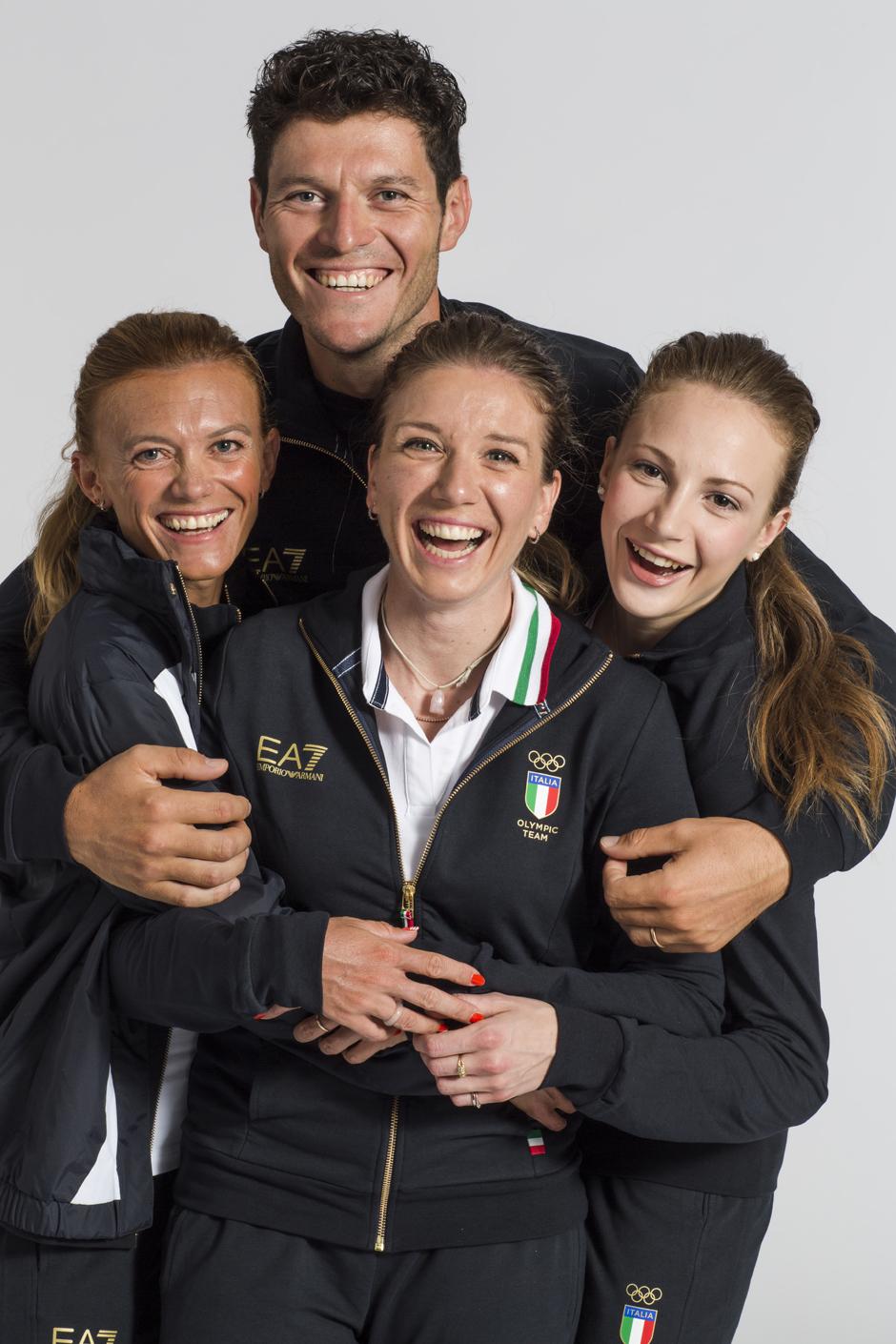 Romano Battisti-Valeria-Straneo-Tatiana Guderzo-Federica Del Buono