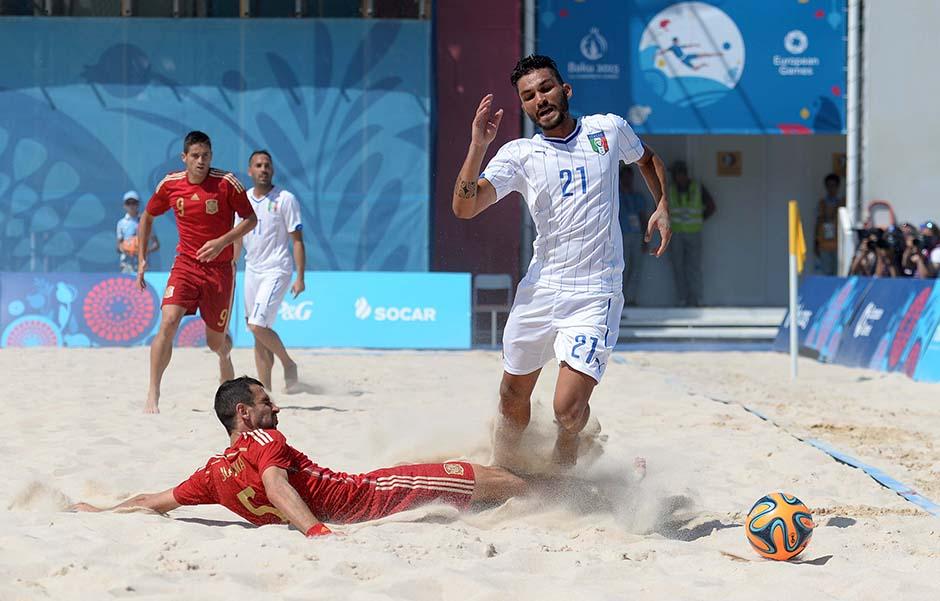 B soccer ITA ESP foto Ferraro GMT 002