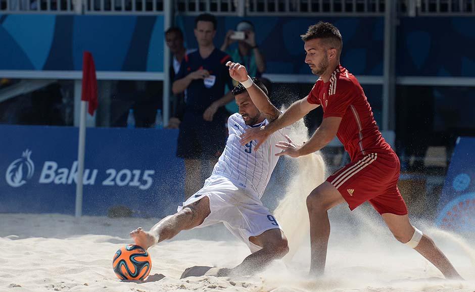 B soccer ITA ESP foto Ferraro GMT 010
