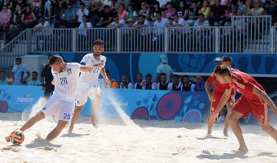 B soccer ITA ESP foto Ferraro GMT 014