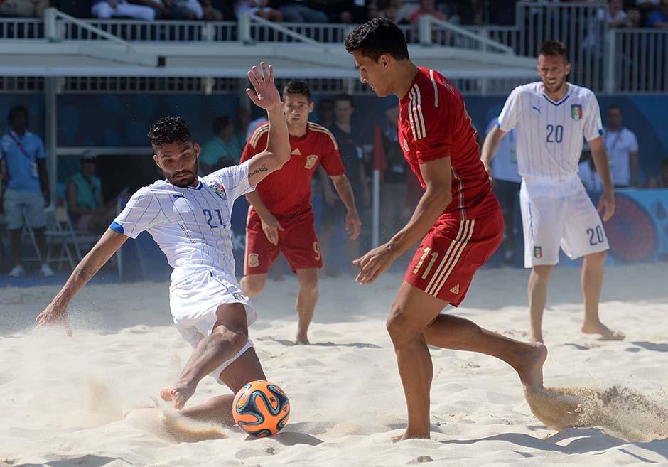 B soccer ITA ESP foto Ferraro GMT 015