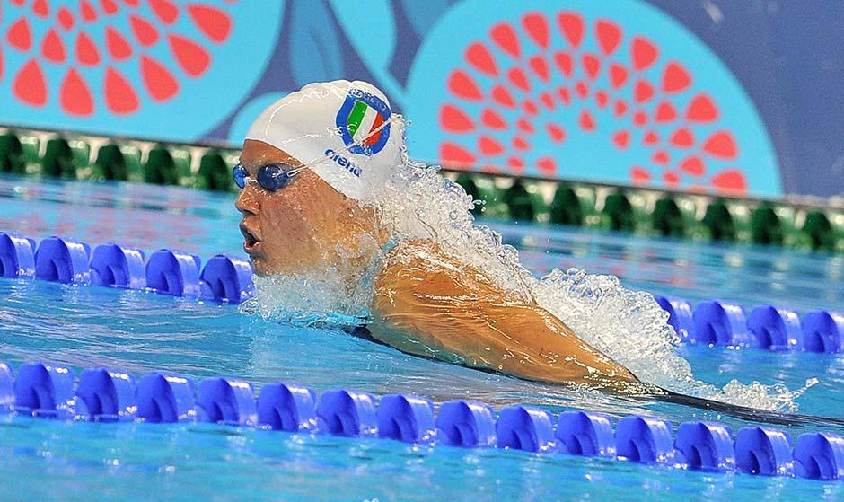 Nuoto Argento 200 farfalla Scarpa Vidal foto Ferraro GMT 002