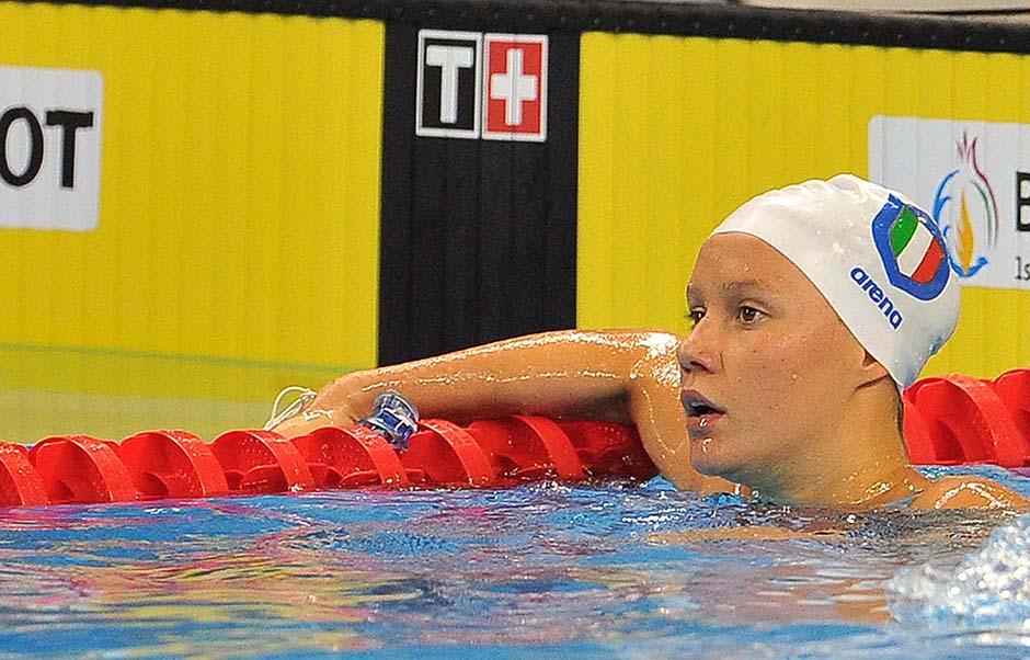 Nuoto Argento 200 farfalla Scarpa Vidal foto Ferraro GMT 004