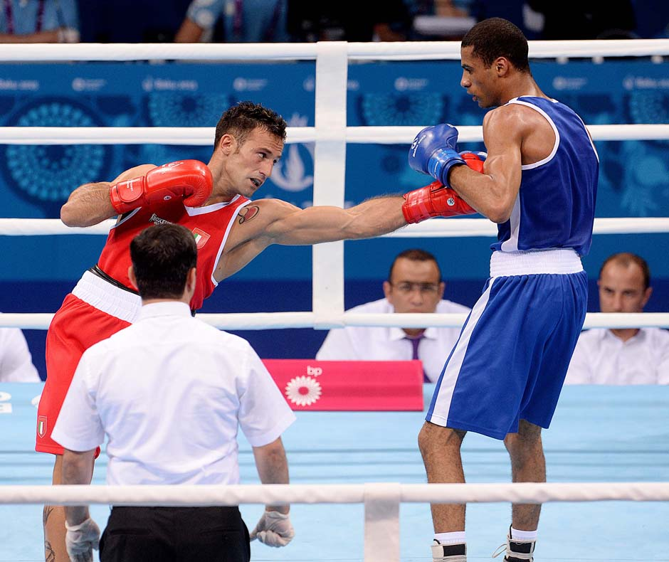 Boxe Mangiacapre vs FRA foto Ferraro GMT 010