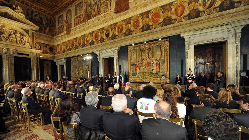 CONI Mattarella Foto Simone Ferraro - GMT 015
