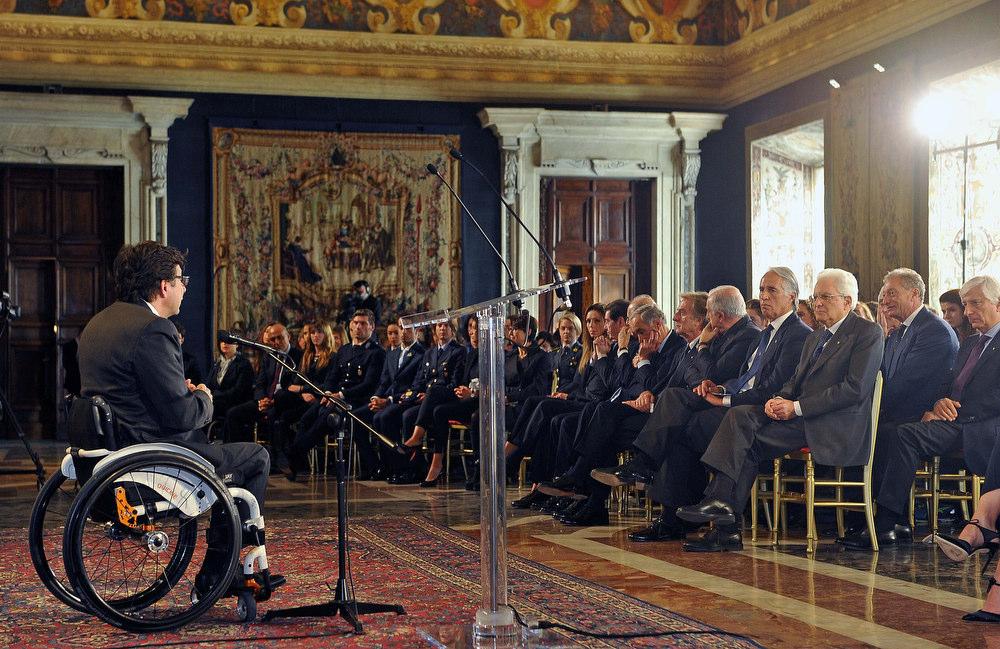 CONI Mattarella Foto Simone Ferraro - GMT 018