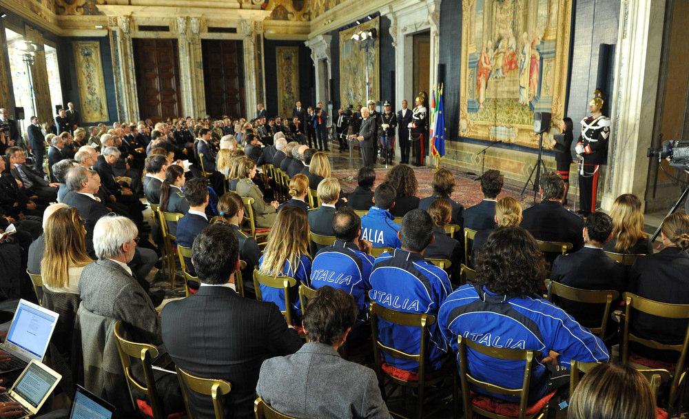 CONI Mattarella Foto Simone Ferraro - GMT 033