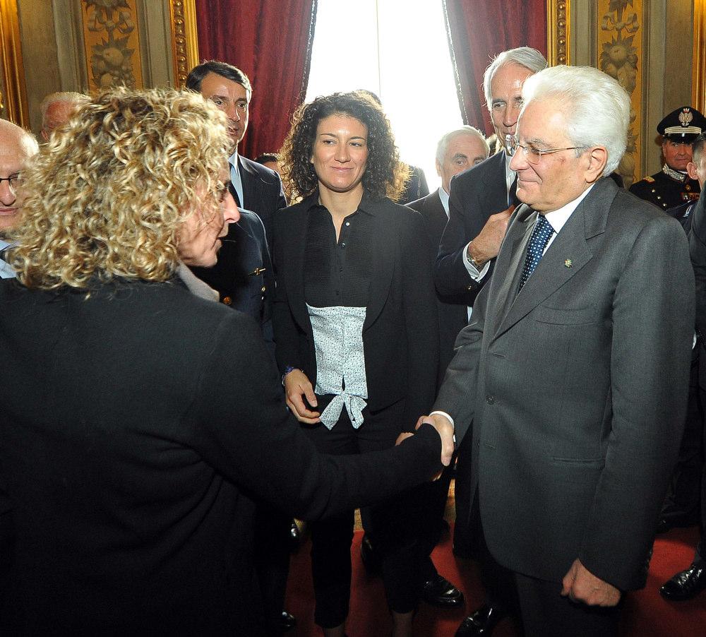 CONI Mattarella Foto Simone Ferraro - GMT 092