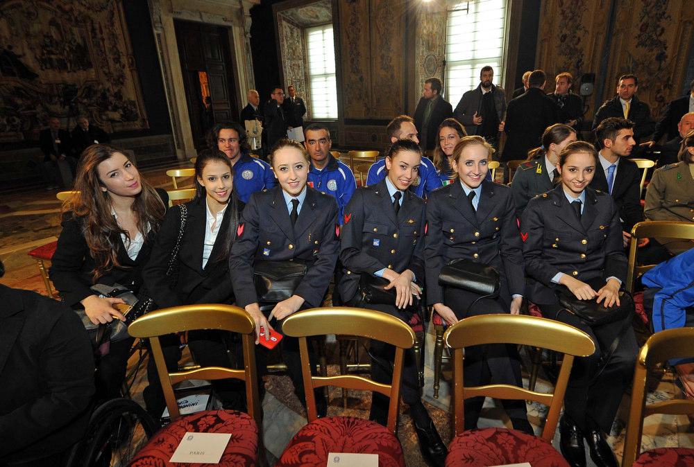 CONI Mattarella Foto Simone Ferraro - GMT 193