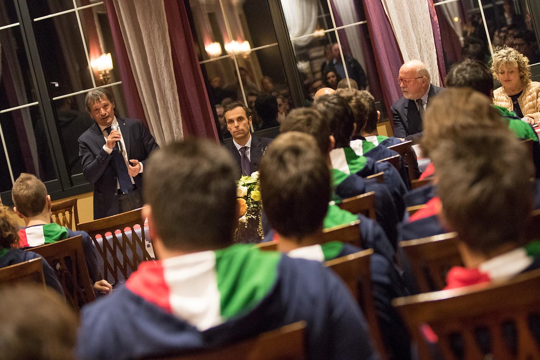 04 Il Presidente della FISI, Flavio Roda, accanto a Carlo Mornati, Vice Segretario Generale del CONI