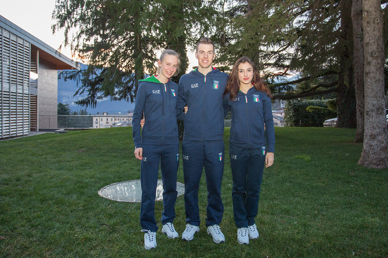 10 Michela Carrara (Biathlon), Niccolò Chiodo (Snowboard) e Thierry Brunier (Biathlon)