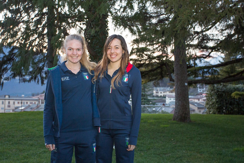 13 Jazmine Erta (Snowboard) e Laura Boetti (Biathlon)