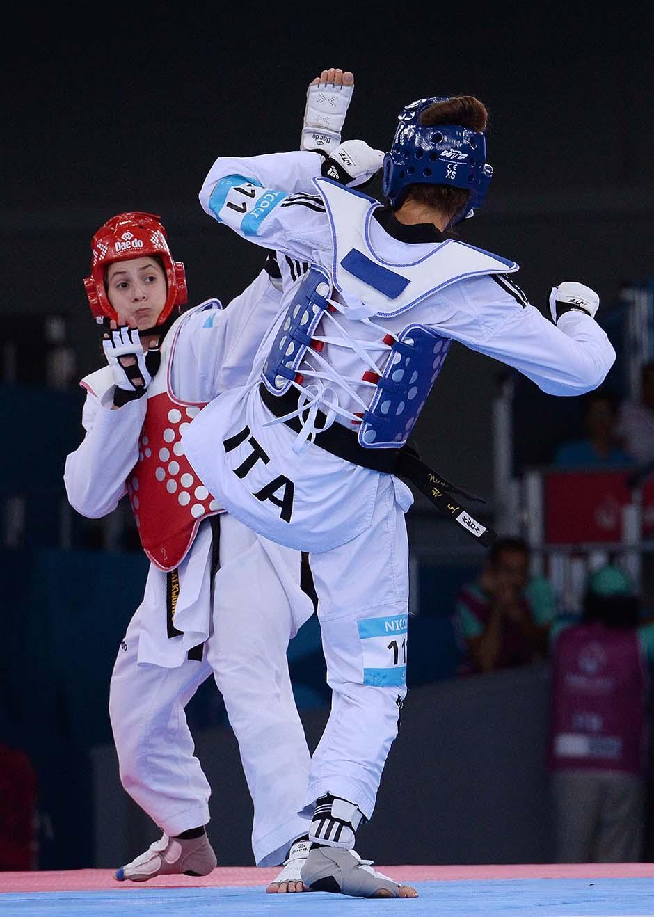 Taekwondo Nicoli foto Ferraro GMT 010