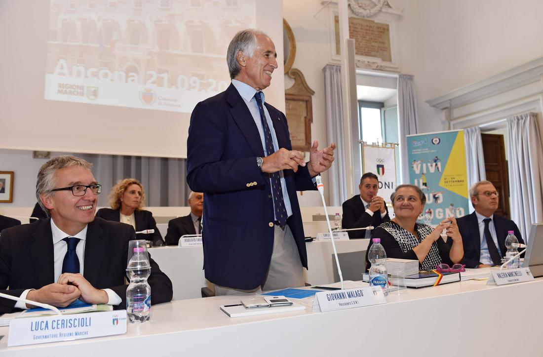 170921 011 Giunta CONI foto Simone Ferraro
