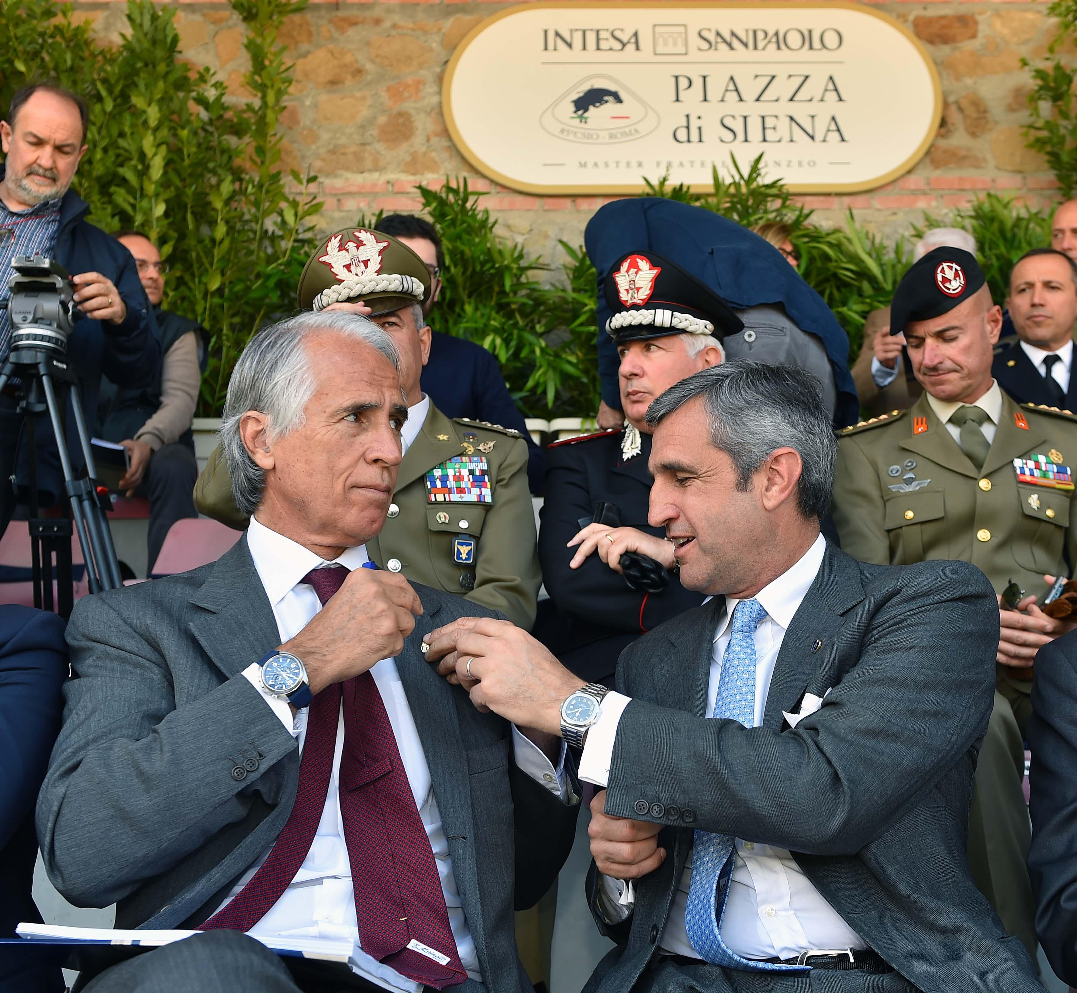 170503010 Piazza Di Siena Conf - Foto Simone Ferraro