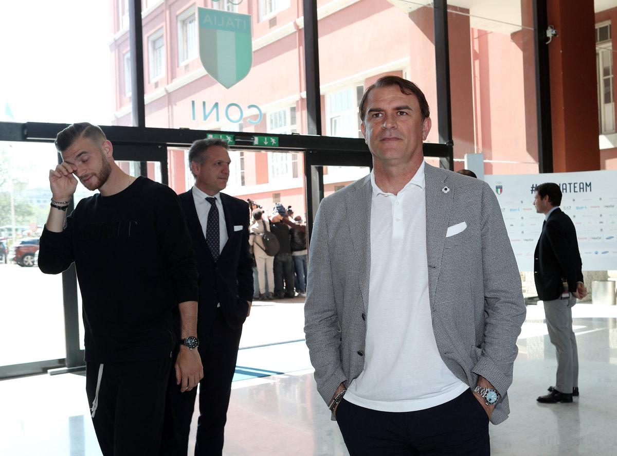 004 Incontro FIGC CAN Giocatori Allenatori Pagliaricci GMT