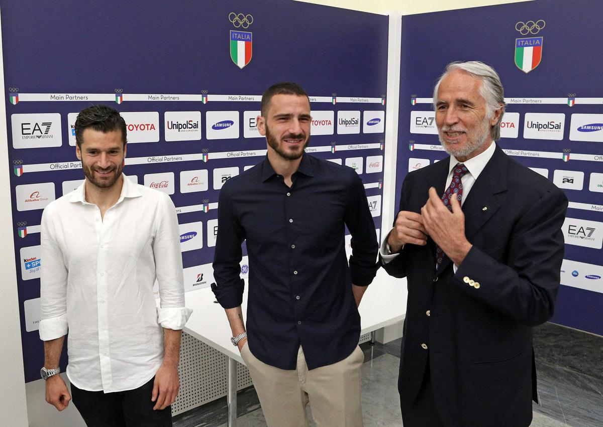 016 Incontro FIGC CAN Giocatori Allenatori Pagliaricci GMT