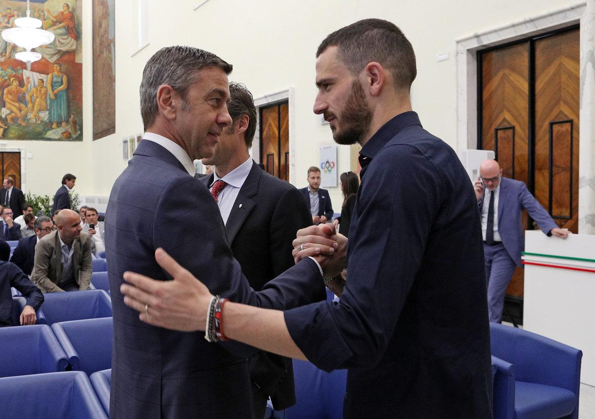 017 Incontro FIGC CAN Giocatori Allenatori Pagliaricci GMT