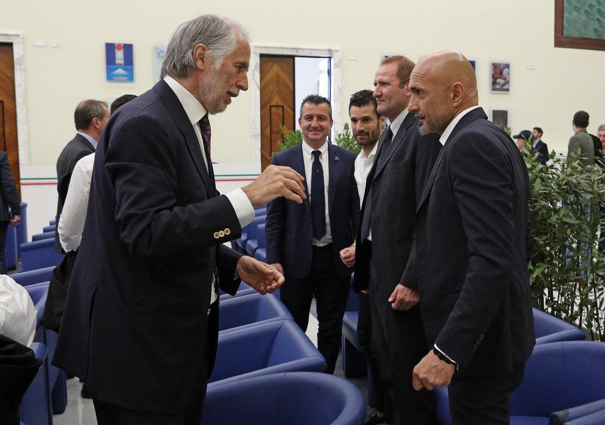 018 Incontro FIGC CAN Giocatori Allenatori Pagliaricci GMT