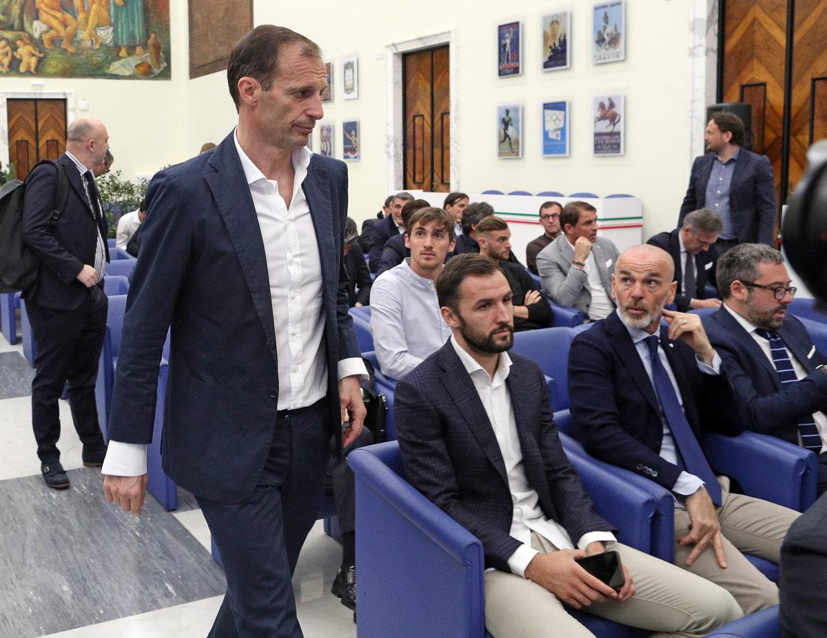 021 Incontro FIGC CAN Giocatori Allenatori Pagliaricci GMT