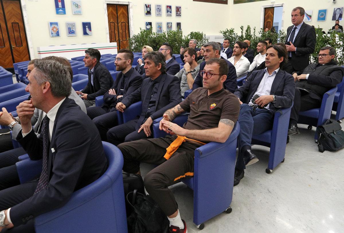 024 Incontro FIGC CAN Giocatori Allenatori Pagliaricci GMT