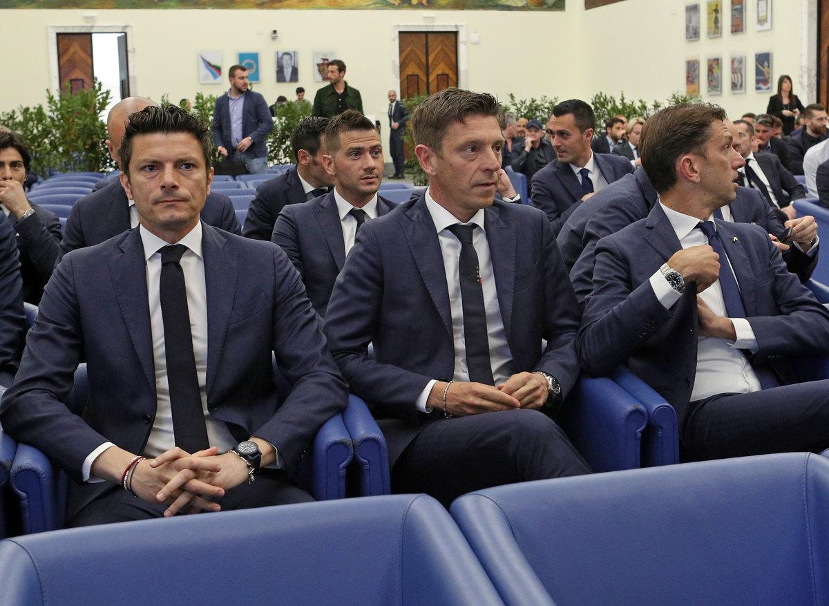 030 Incontro FIGC CAN Giocatori Allenatori Pagliaricci GMT