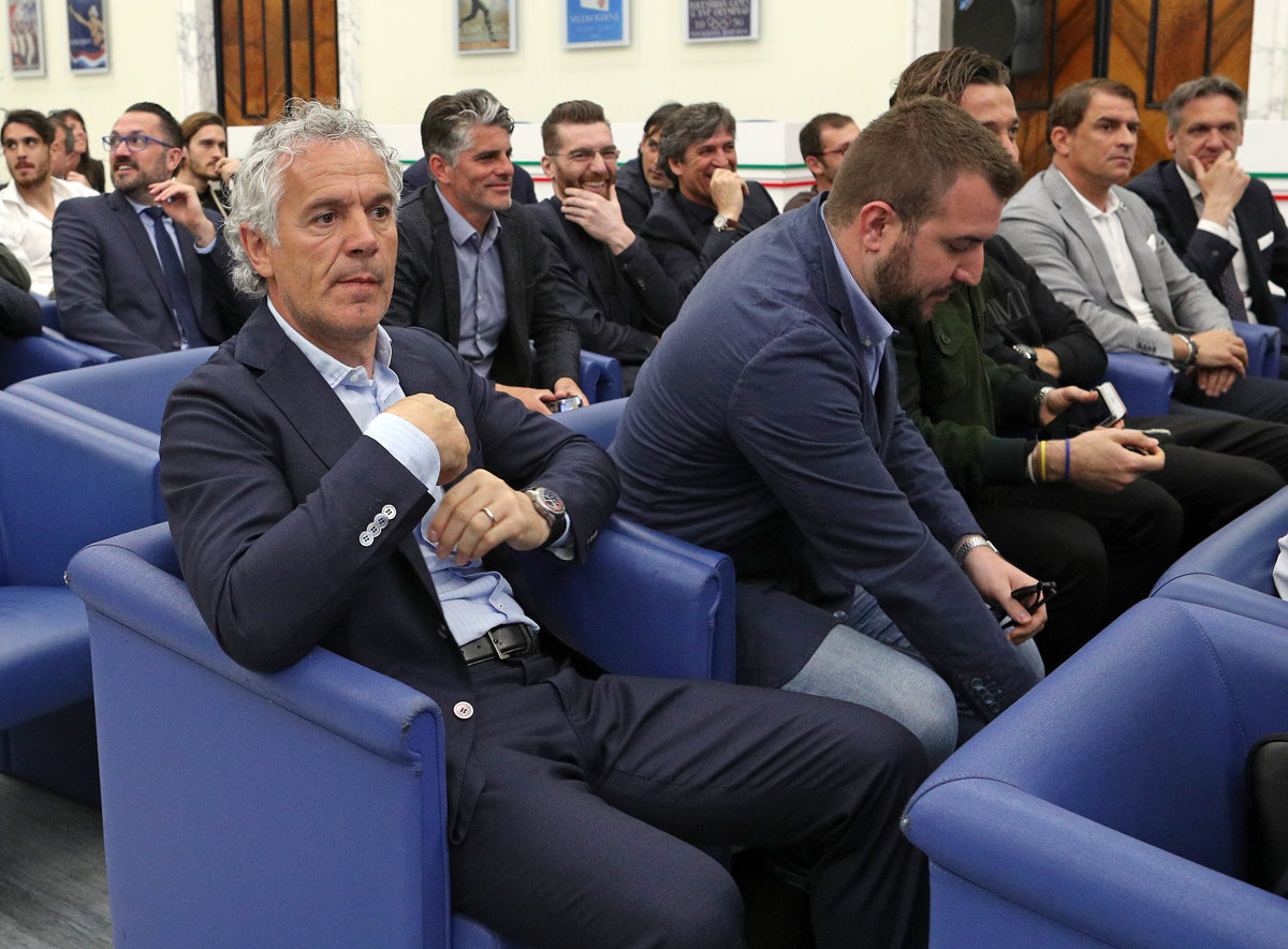 031 Incontro FIGC CAN Giocatori Allenatori Pagliaricci GMT