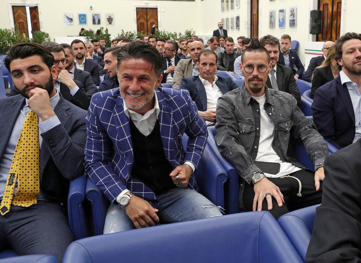032 Incontro FIGC CAN Giocatori Allenatori Pagliaricci GMT