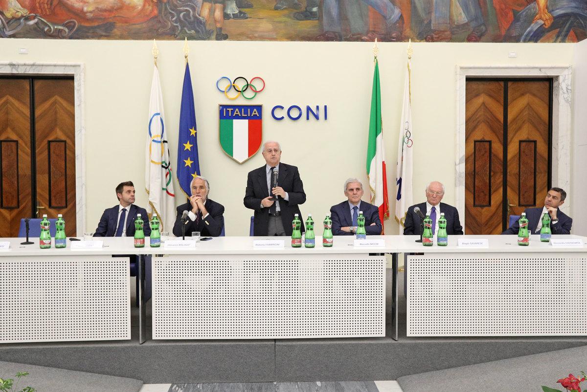 036 Incontro FIGC CAN Giocatori Allenatori Pagliaricci GMT