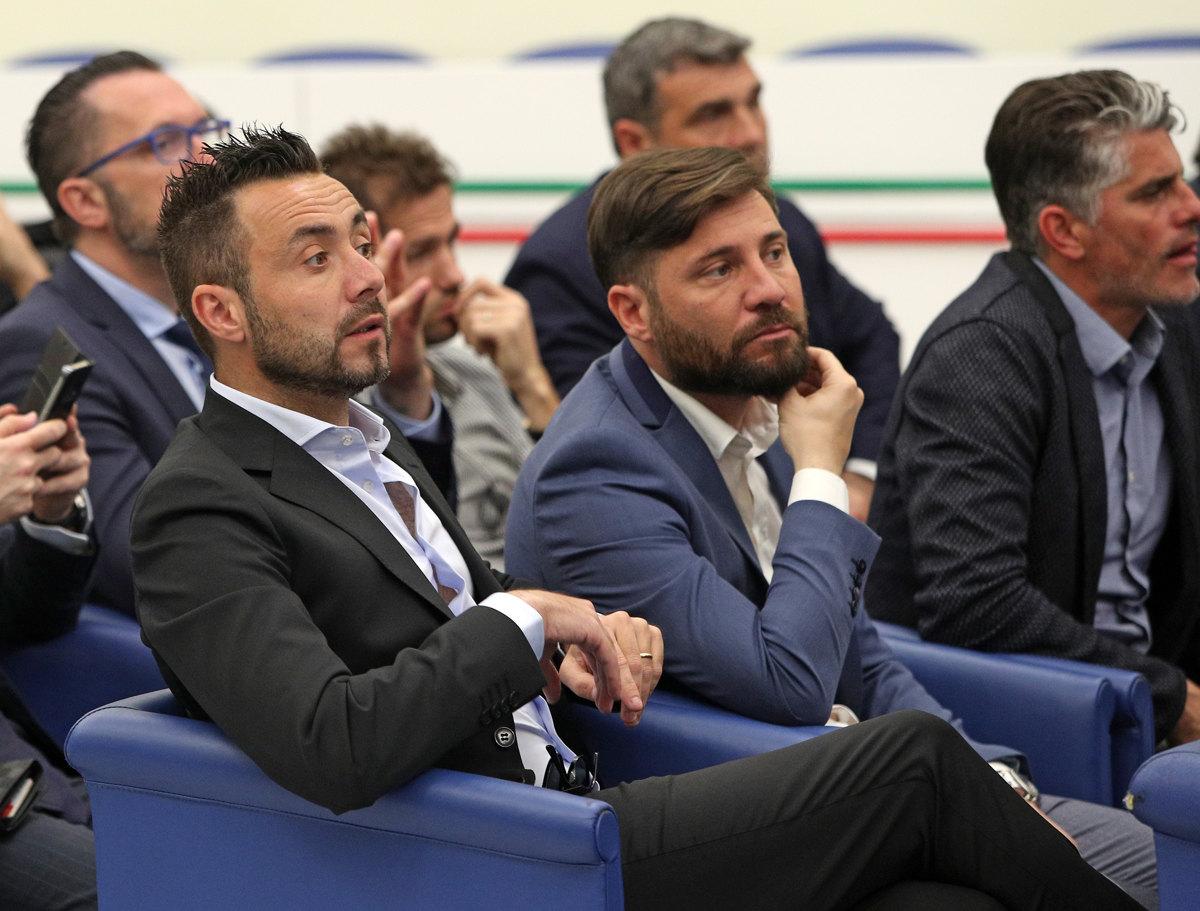 046 Incontro FIGC CAN Giocatori Allenatori Pagliaricci GMT