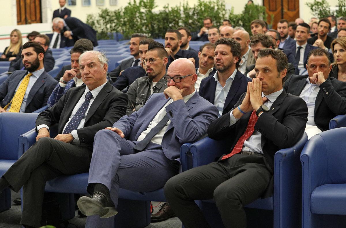 052 Incontro FIGC CAN Giocatori Allenatori Pagliaricci GMT