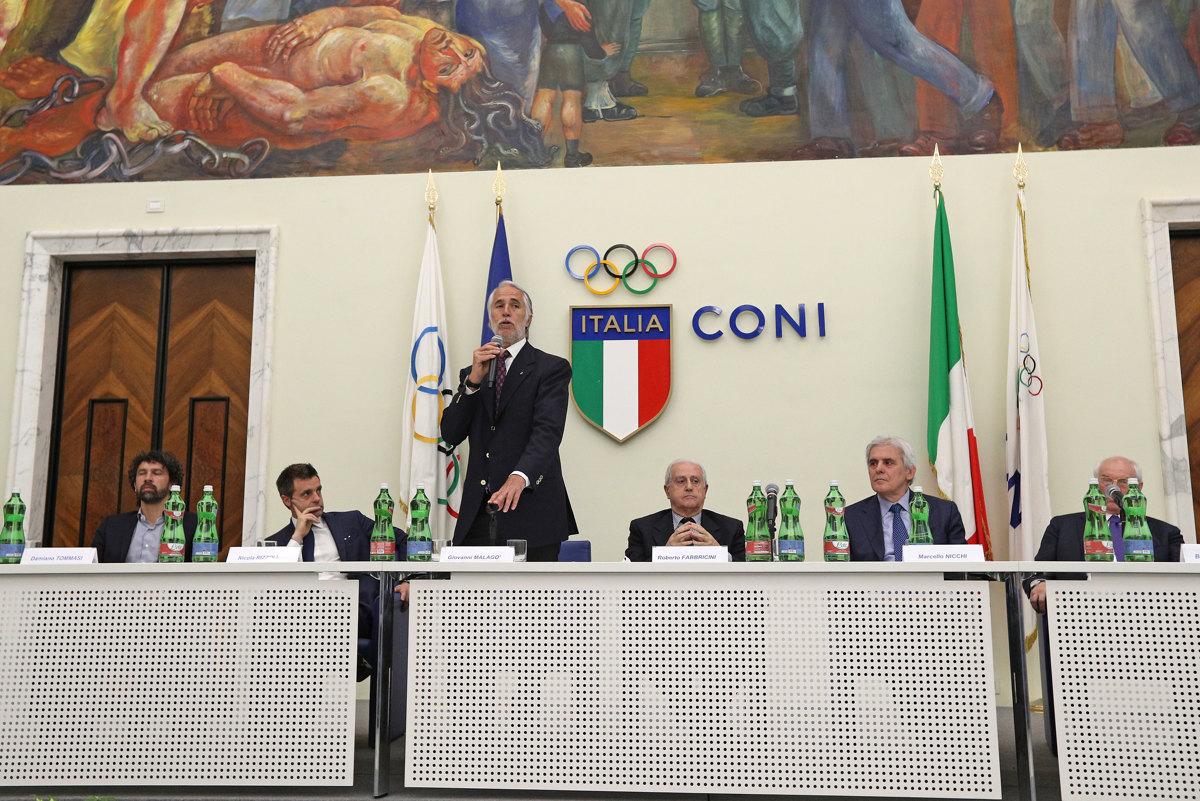 058 Incontro FIGC CAN Giocatori Allenatori Pagliaricci GMT