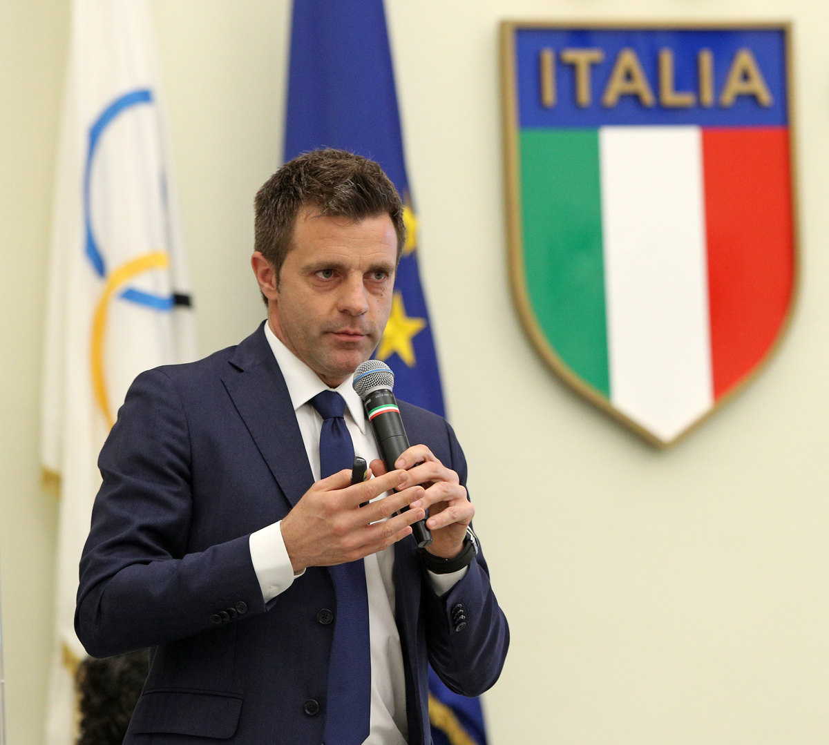 066 Incontro FIGC CAN Giocatori Allenatori Pagliaricci GMT