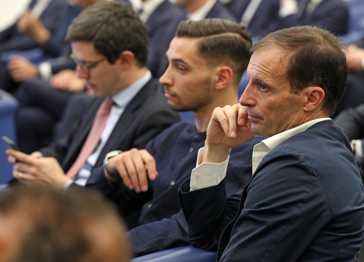 068 Incontro FIGC CAN Giocatori Allenatori Pagliaricci GMT