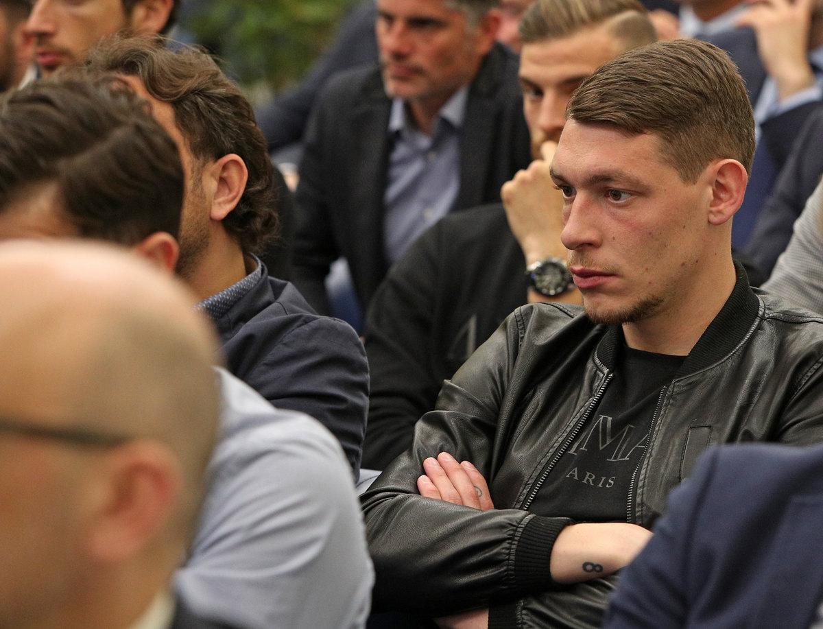 074 Incontro FIGC CAN Giocatori Allenatori Pagliaricci GMT