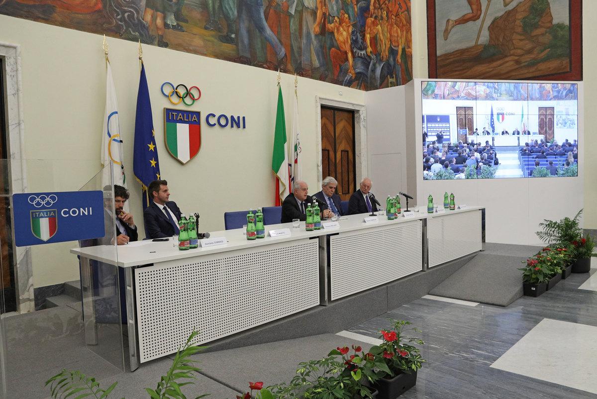 084 Incontro FIGC CAN Giocatori Allenatori Pagliaricci GMT