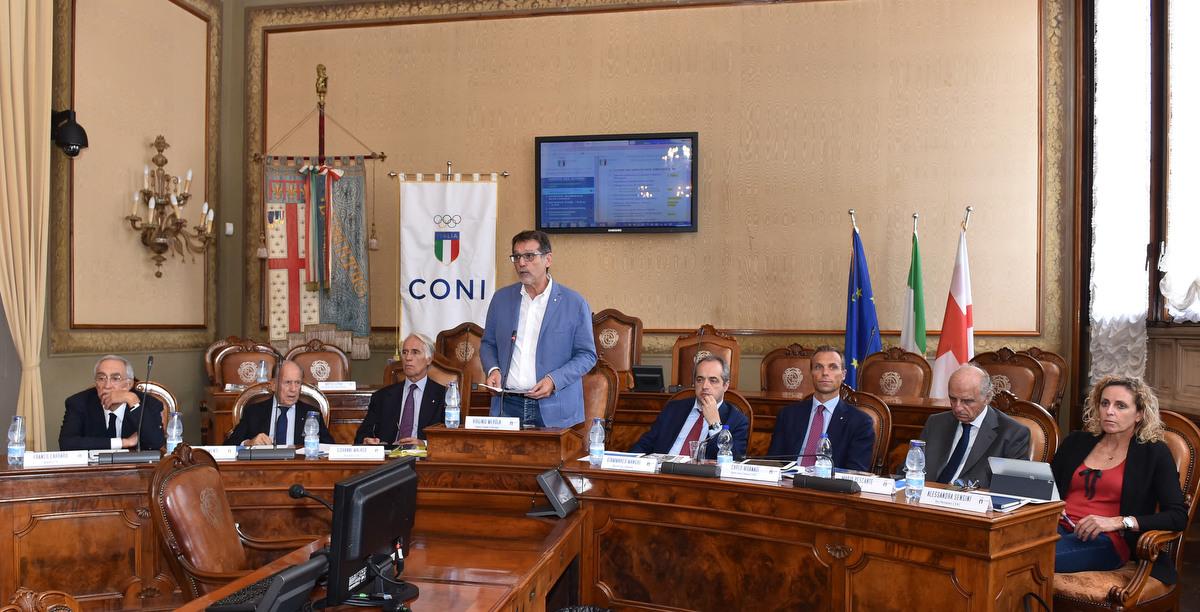 180920 022 Giunta CONI foto Simone Ferraro