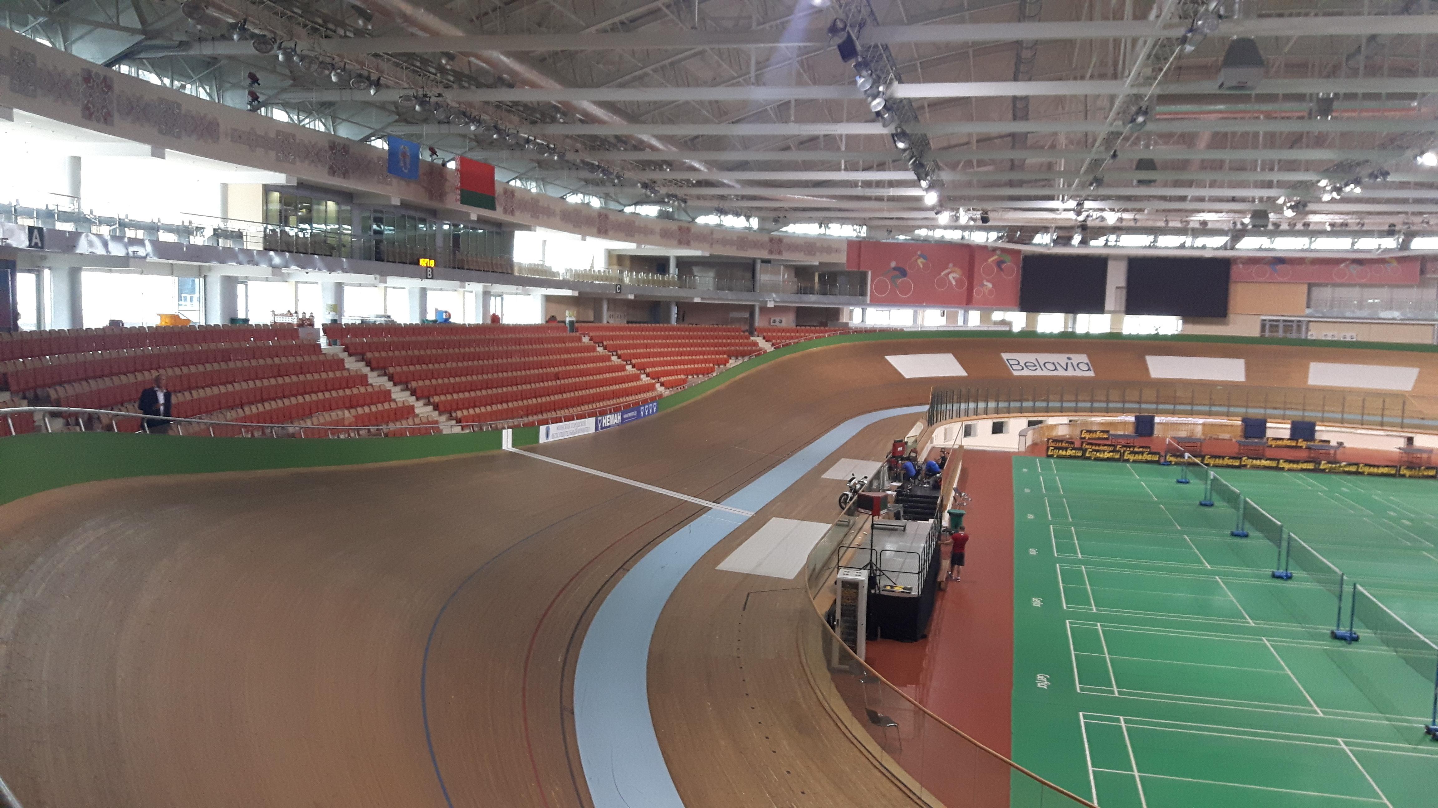 minsk arena velodrome ciclismo pista