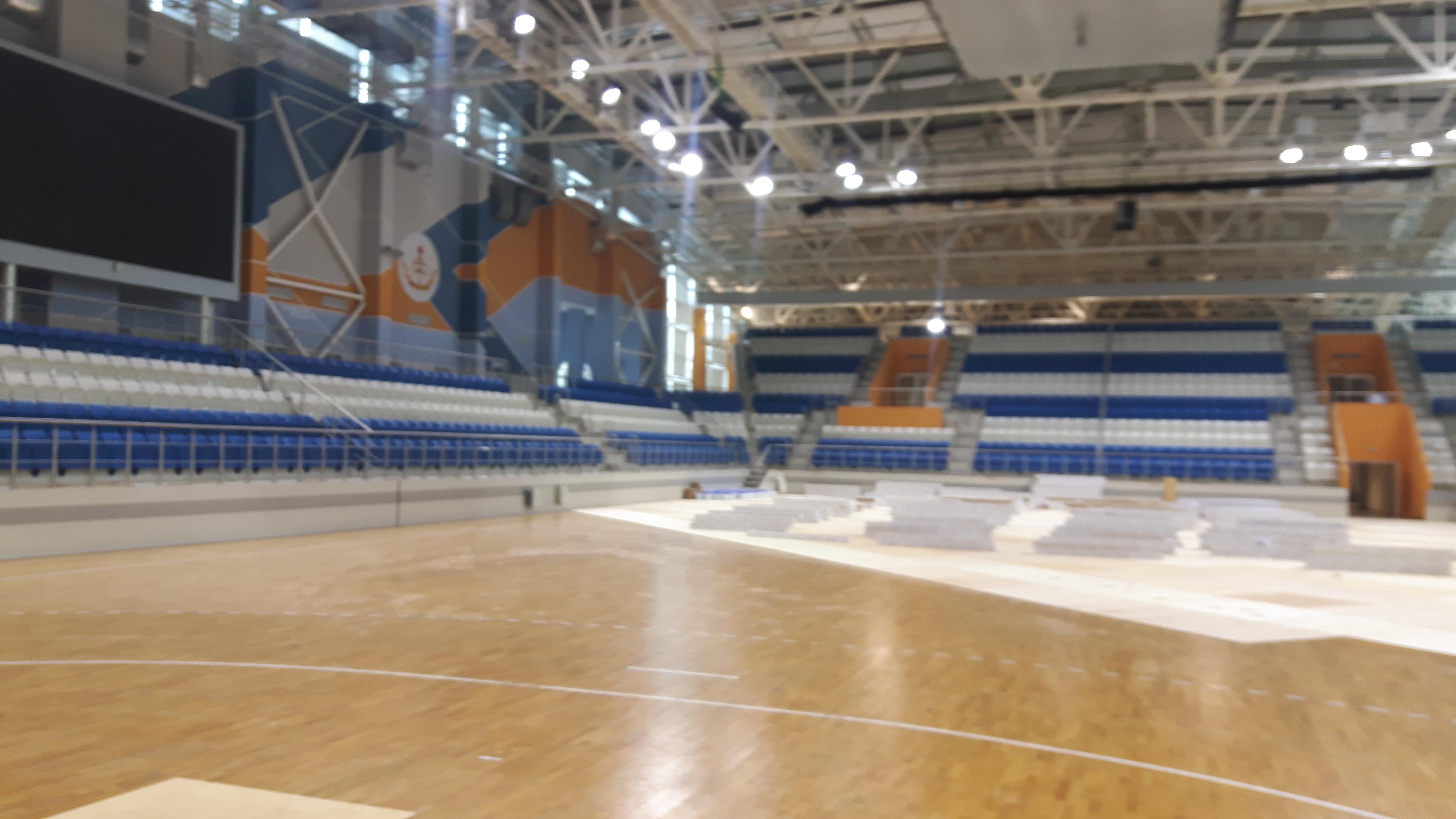 sport palace Uruche pugilato