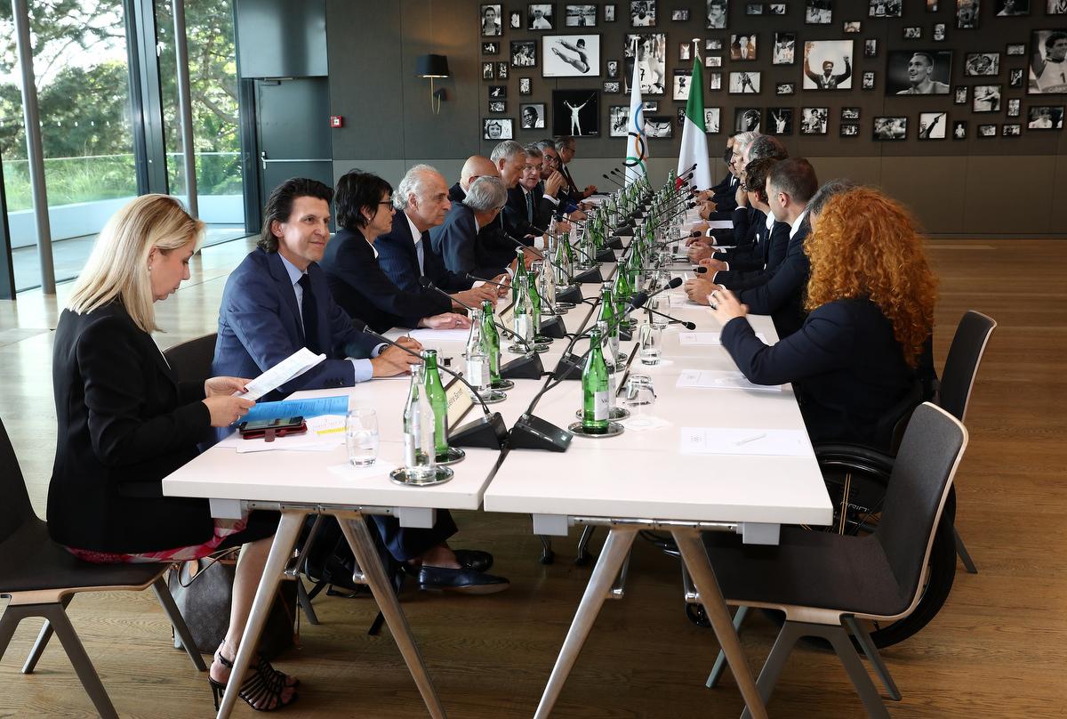 20190623 Meeting MilanoCortina Foto Pagliaricci GMT Sport049