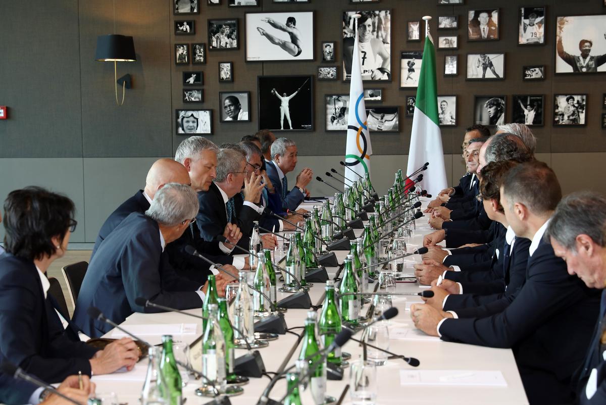 20190623 Meeting MilanoCortina Foto Pagliaricci GMT Sport050
