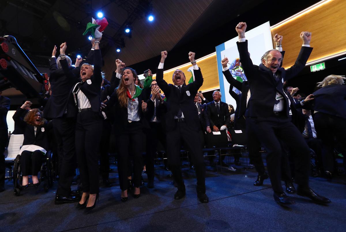 20190624 Assegnazione Olimpiadi2026 MilanoCortina Vincitrice Foto Pagliaricci GMT Sport003