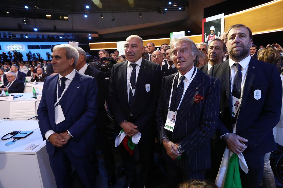 20190624 Assegnazione Olimpiadi2026 MilanoCortina Vincitrice Foto Pagliaricci GMT Sport041