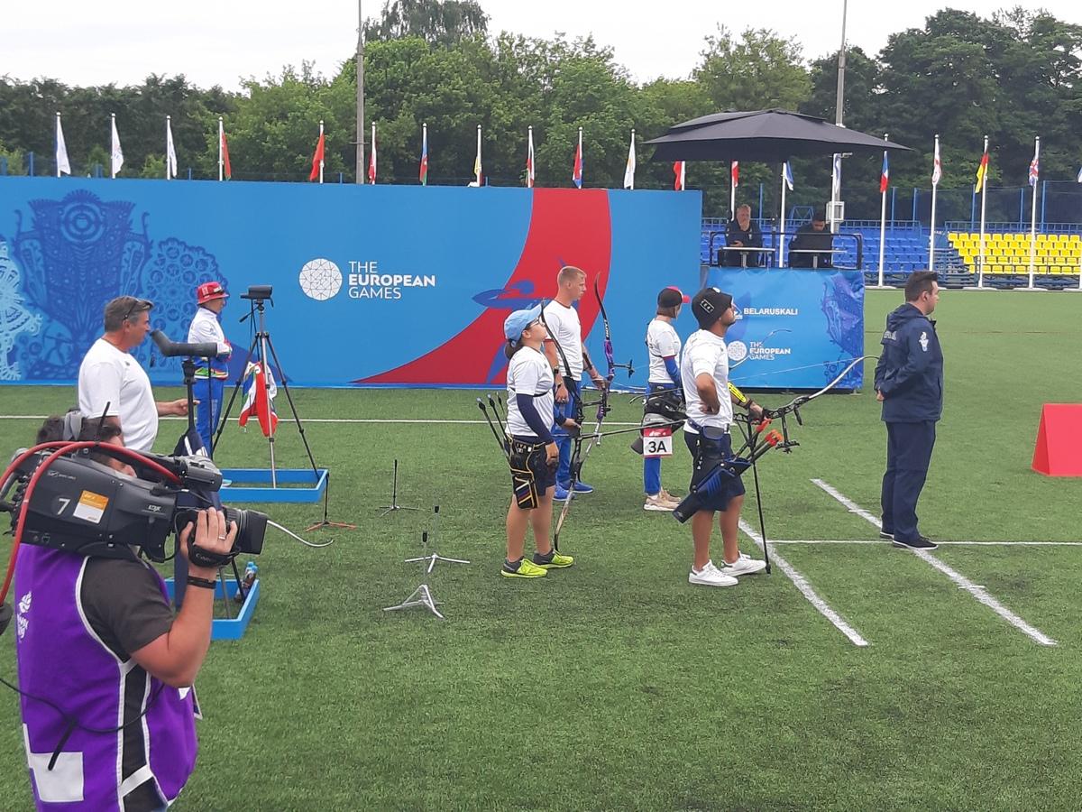 Mauro Nespoli e Lucilla Boari in semifinale con la Bielorussia