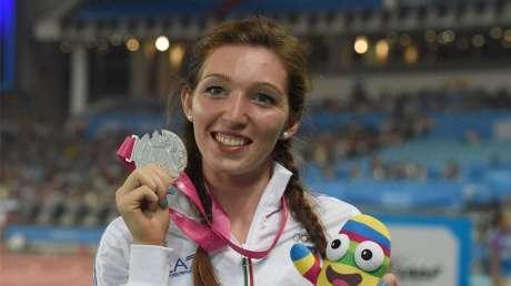Nanjing 2014 - Atletica Donne/5000 metri marcia: Noemi Stella