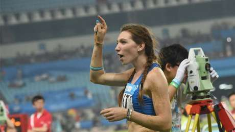 Nanjing 2014 - Atletica Donne/Lungo: Beatrice Fiorese