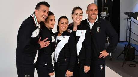 Alberto Busnari, Erika Fasana, Vanessa Ferrari, Carlotta Ferlito e Matteo Morandi